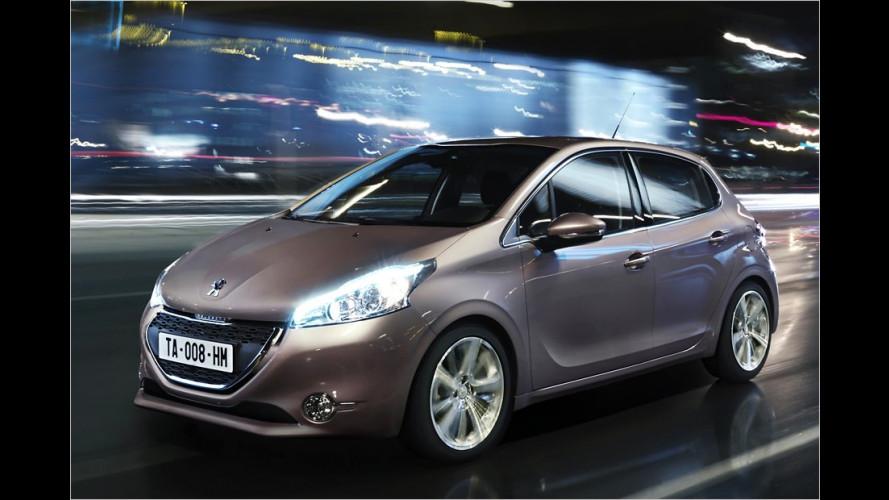 Peugeot 208 (2011) bekommt sparsamere Motoren