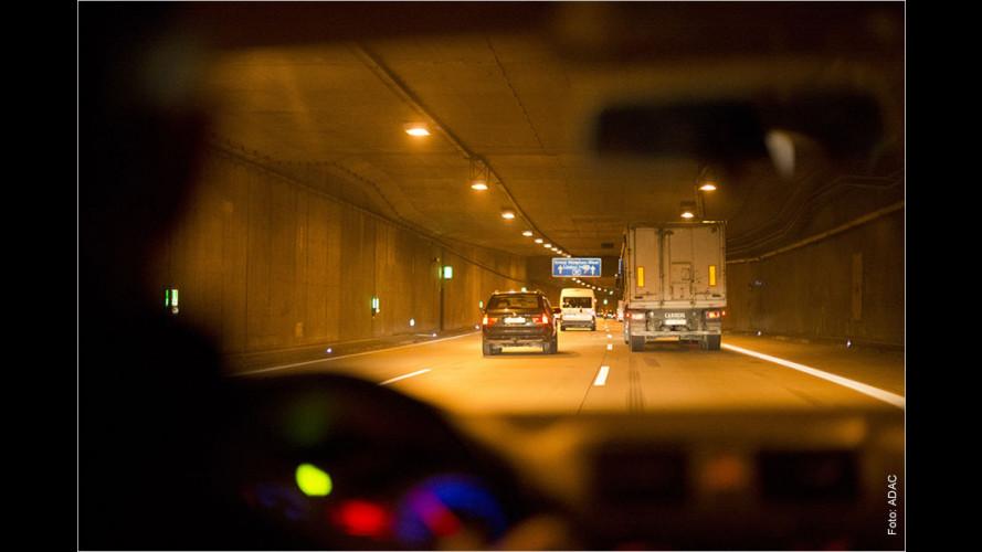 ADAC-Tunneltest 2015 mit überraschendem Ergebnis