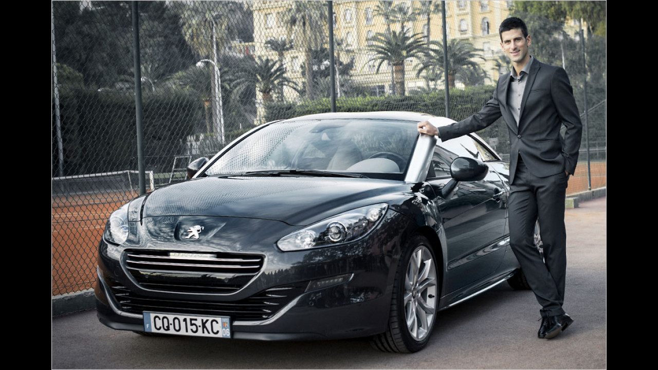 Novak Djokovic: Peugeot