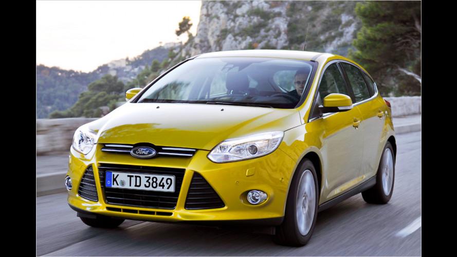 Ford Focus (2011) mit neuen Antriebsvarianten