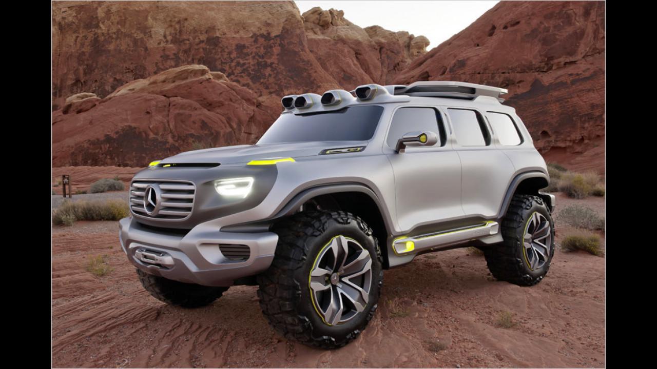 Die Zukunft? Der Mercedes Ener-G-Force