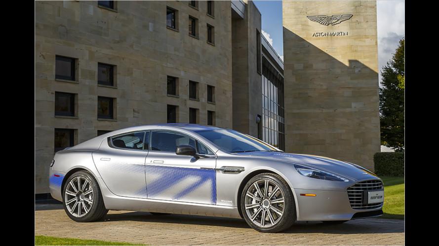 Aston Martin stellt RapidE Concept vor (2015)