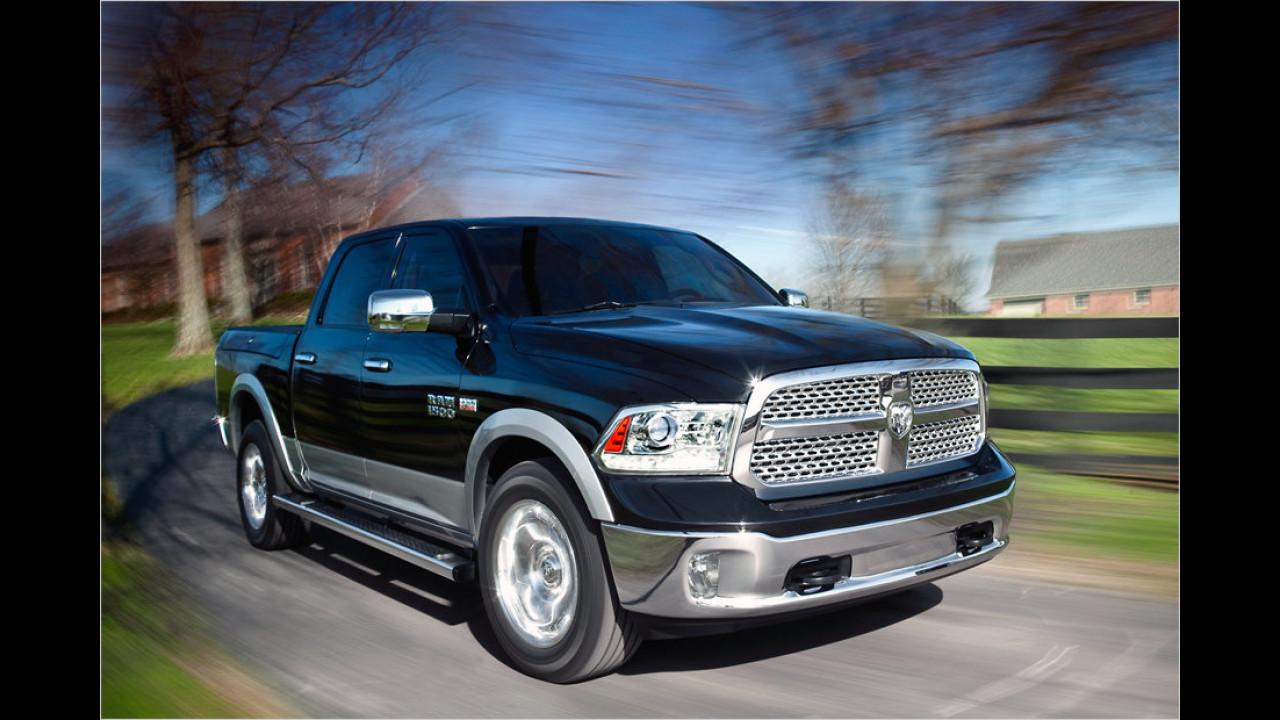 Ford F-Serie gegen Dodge RAM