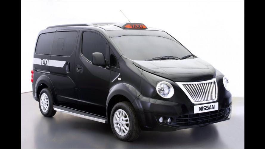 Neues Taximodell für London auf Basis des Nissan NV200