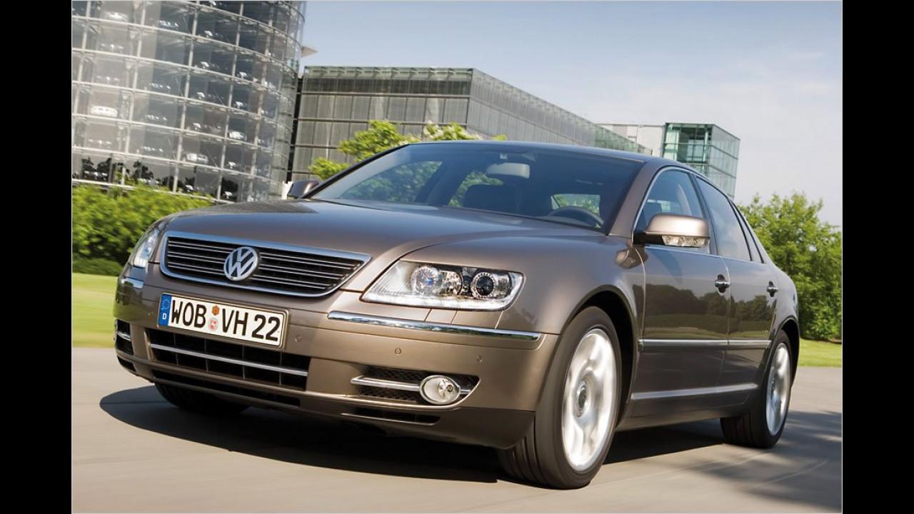 Oberklasse, 2. Platz: VW Phaeton