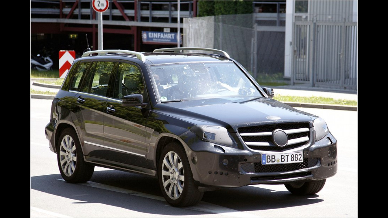 Mercedes GLK Facelift