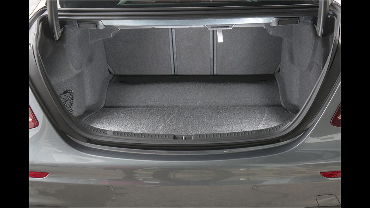 Kofferraum: 540 Liter