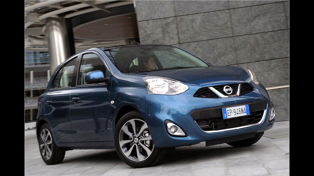 Nissan Micra 1.2 Acenta (80 PS): 34,2 Prozent