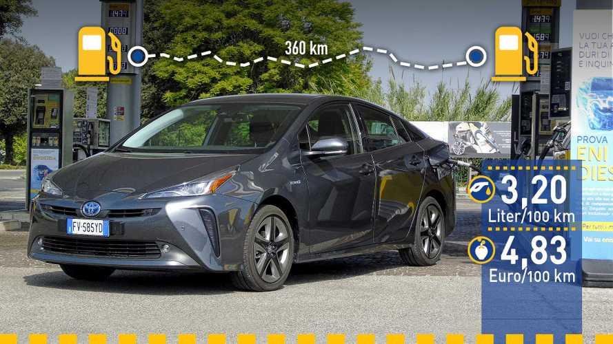 Tatsächlicher Verbrauch: Toyota Prius AWD-i im Test