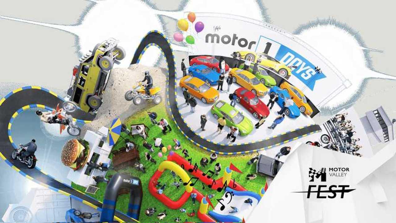 Copertina due Motor1Days 2019 è il parco divertimenti