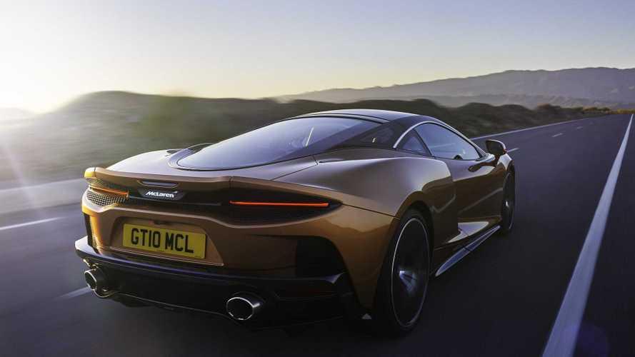 La McLaren GT part en tournée européenne