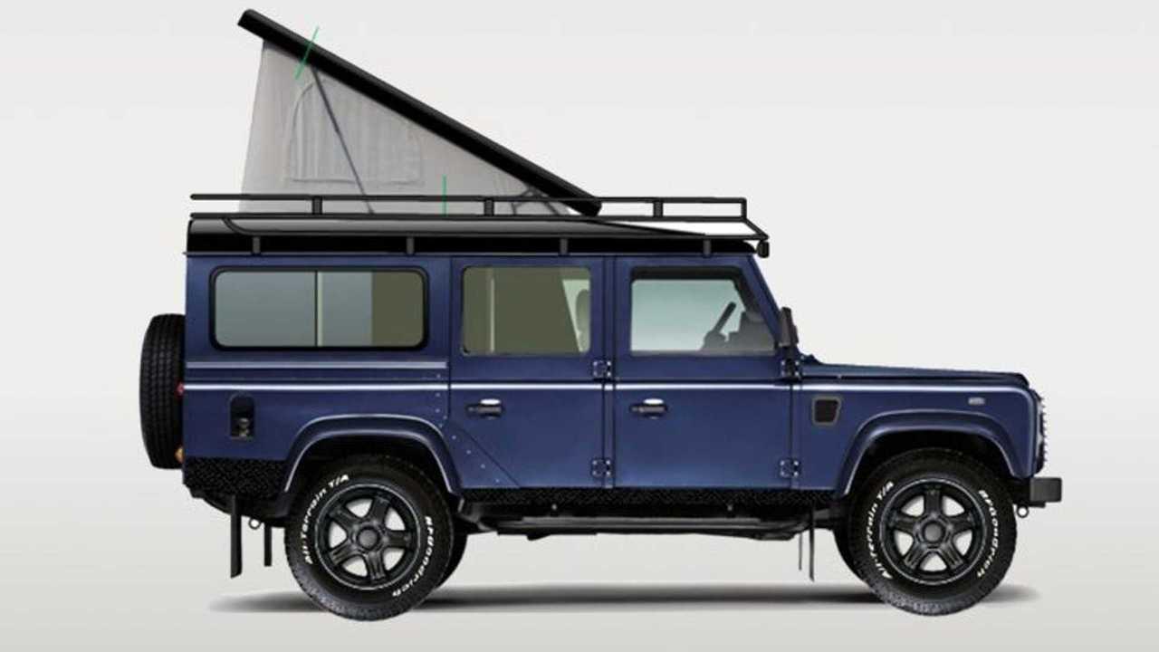 CamperHus Land Rover Defender Camper