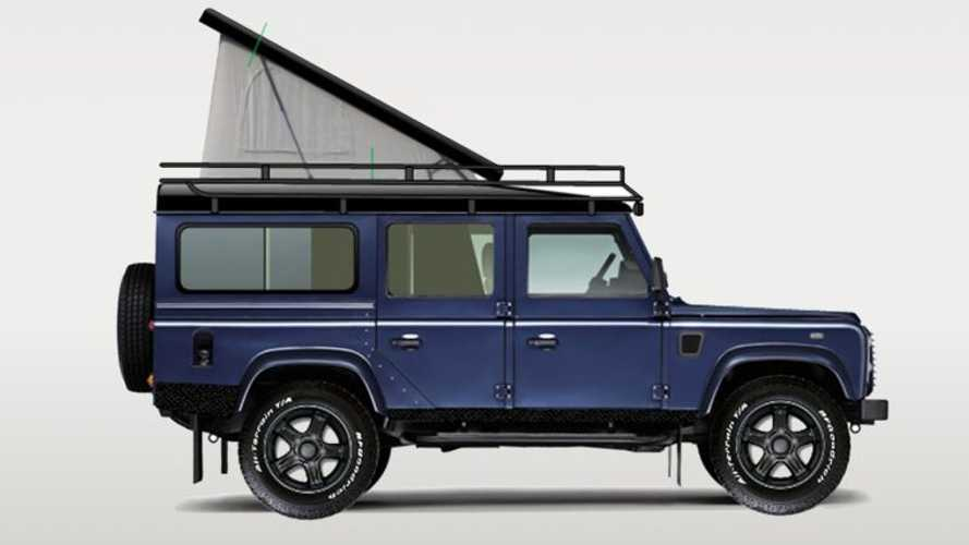 Land Rover Defender gets brilliant camper conversion