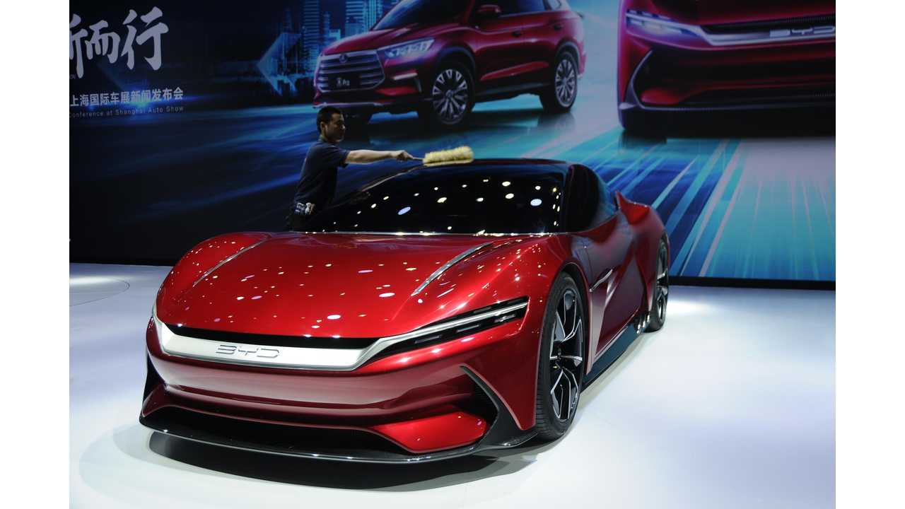 BYD E-SEED GT Debuts At Shanghai Auto Show: Videos