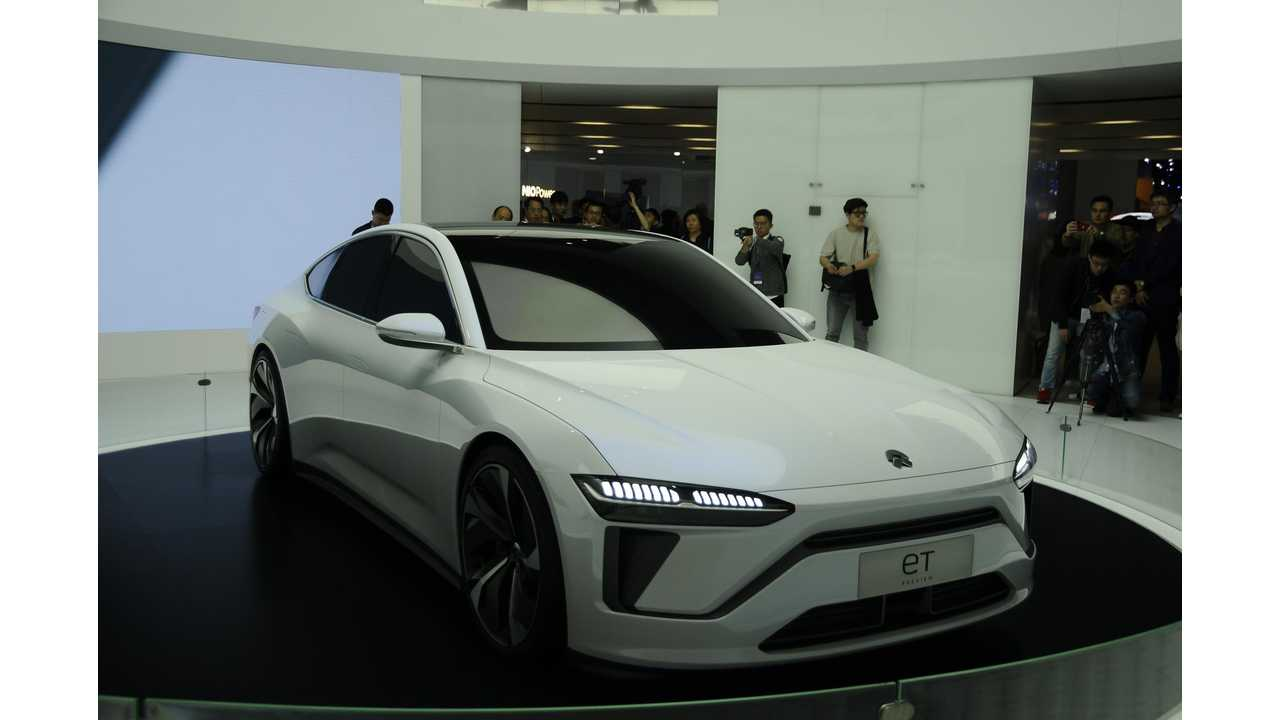Nio Teases Its Flagship Sedan With Massive 150 Kwh Battery