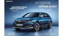 2020 Skoda Superb facelift