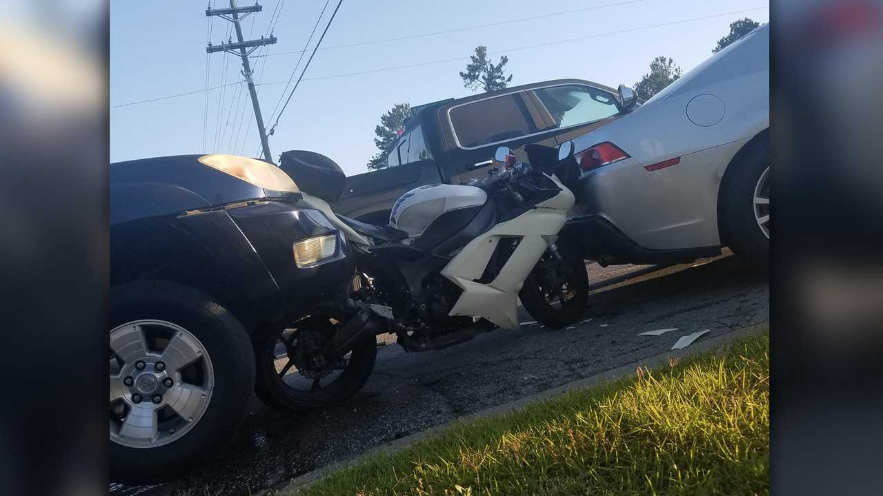 Motorcycle crash why lane filtering should be legal