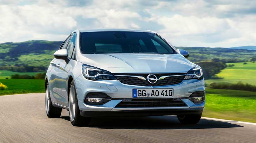 Opel Astra Facelift (2019)