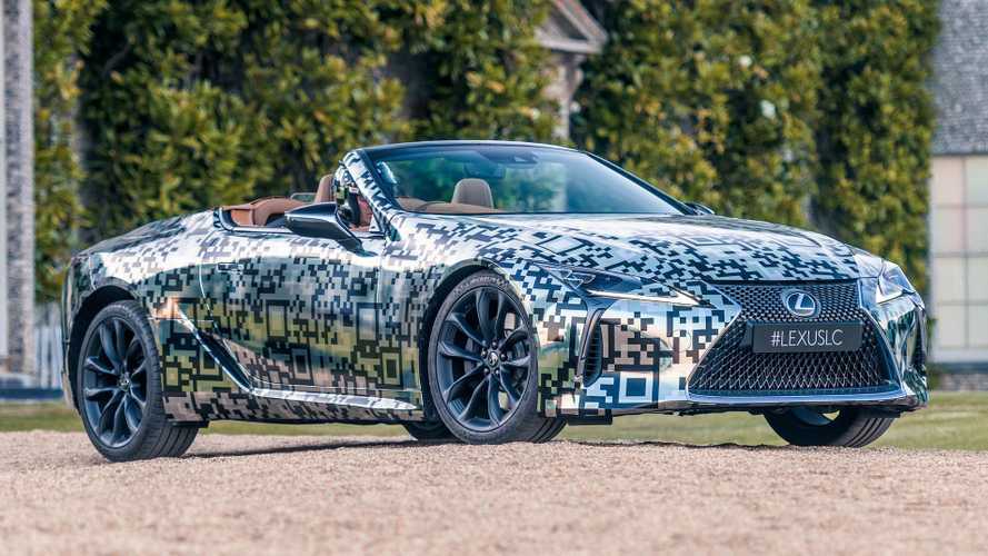 Lexus LC Convertible Prototype Brings Its Good Looks To Goodwood