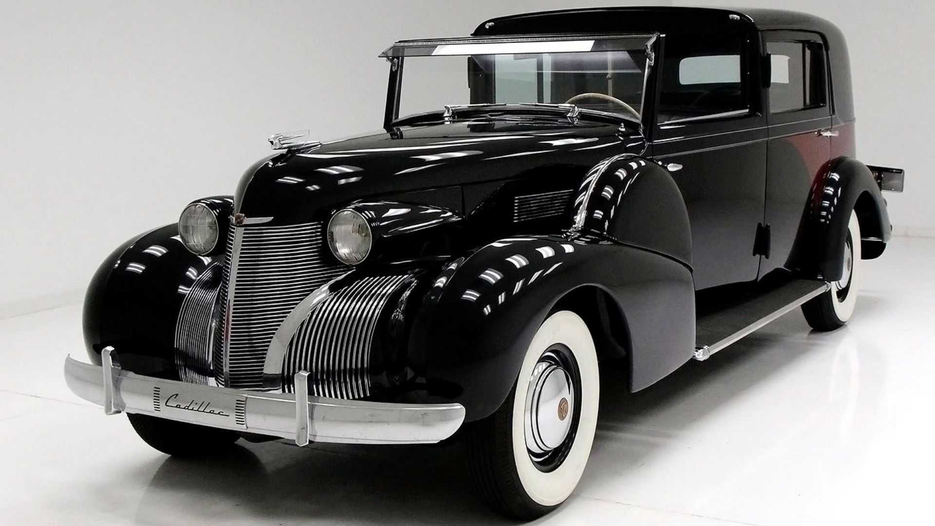 """[""""Ride In True Luxury With A Custom 1939 Cadillac Model 75 Limousine""""]"""