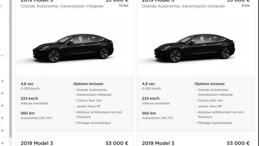 Tesla France vend ses Model 3 de démonstration