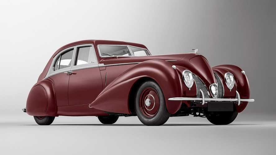 Bentley Corniche von 1939: Neues Altblech