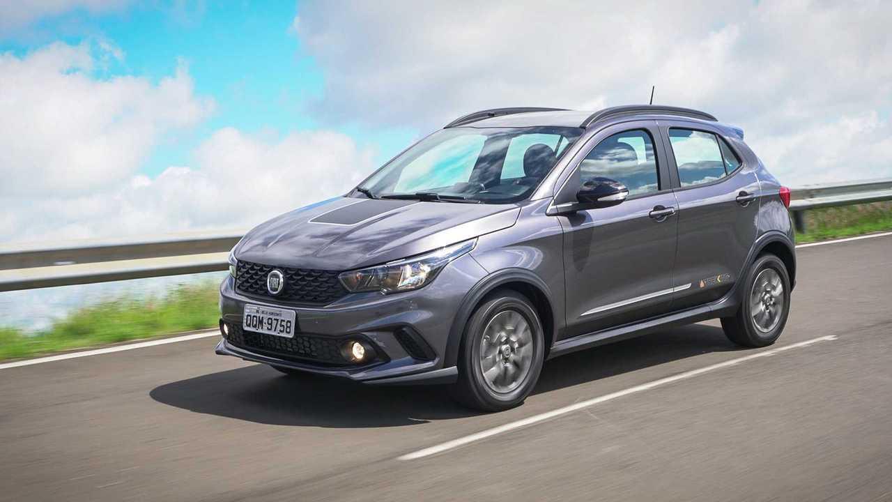Fiat Argo Trekking abre