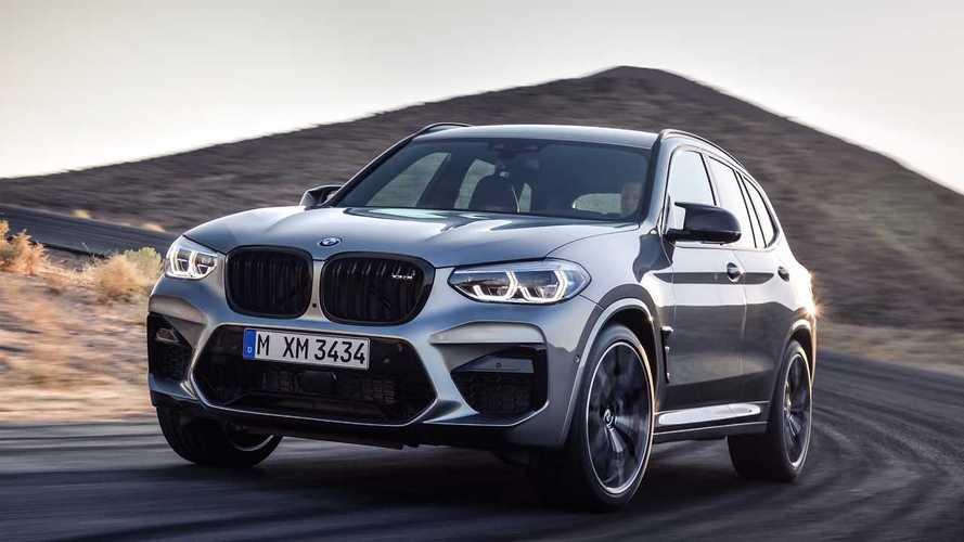 Manhart'ın BMW X3M Competition modelinin hızlanmasını izleyin
