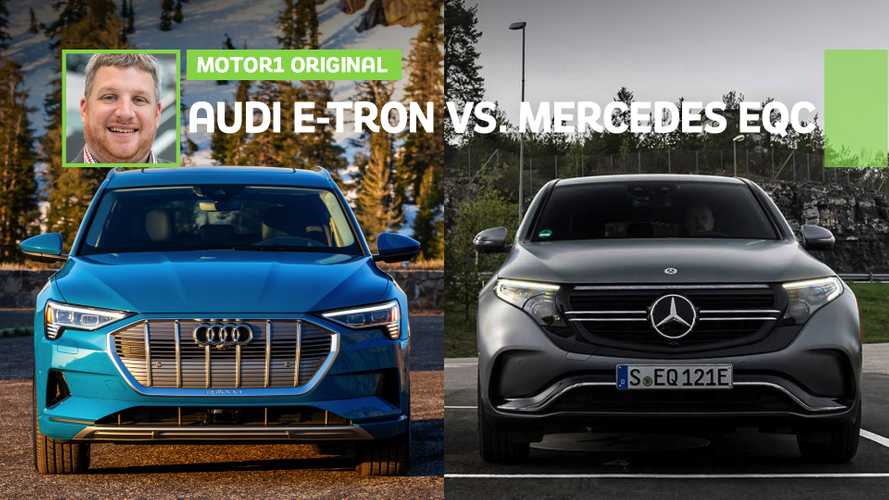Audi E-Tron Vs Mercedes-Benz EQC Comparison: German Tesla Contenders