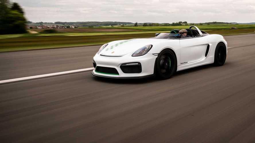 VIDÉO - L'unique Porsche Bergspyder entre en action