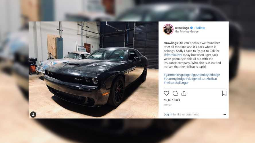 Richard Rawlings Reunited With Stolen Dodge Challenger Hellcat