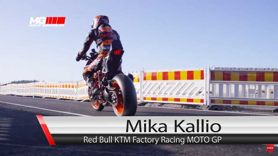 Watch KTM Test Rider Take On Finland's New MotoGP Circuit