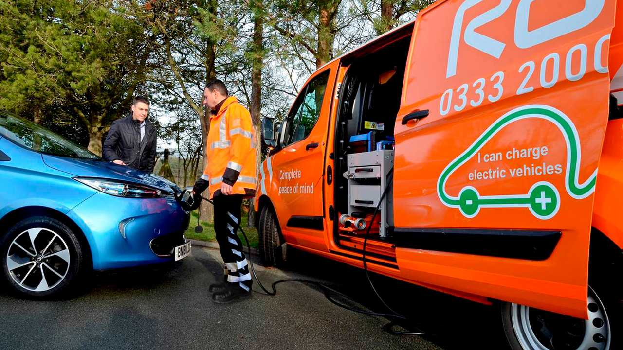 RAC EV Boost emergency charging kit