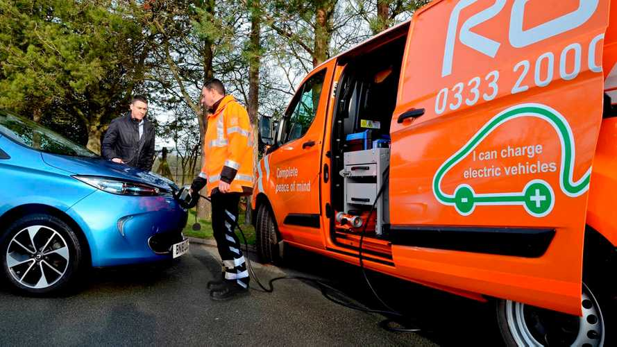 RAC To Add Emergency Electric Car Charging Mobile Units