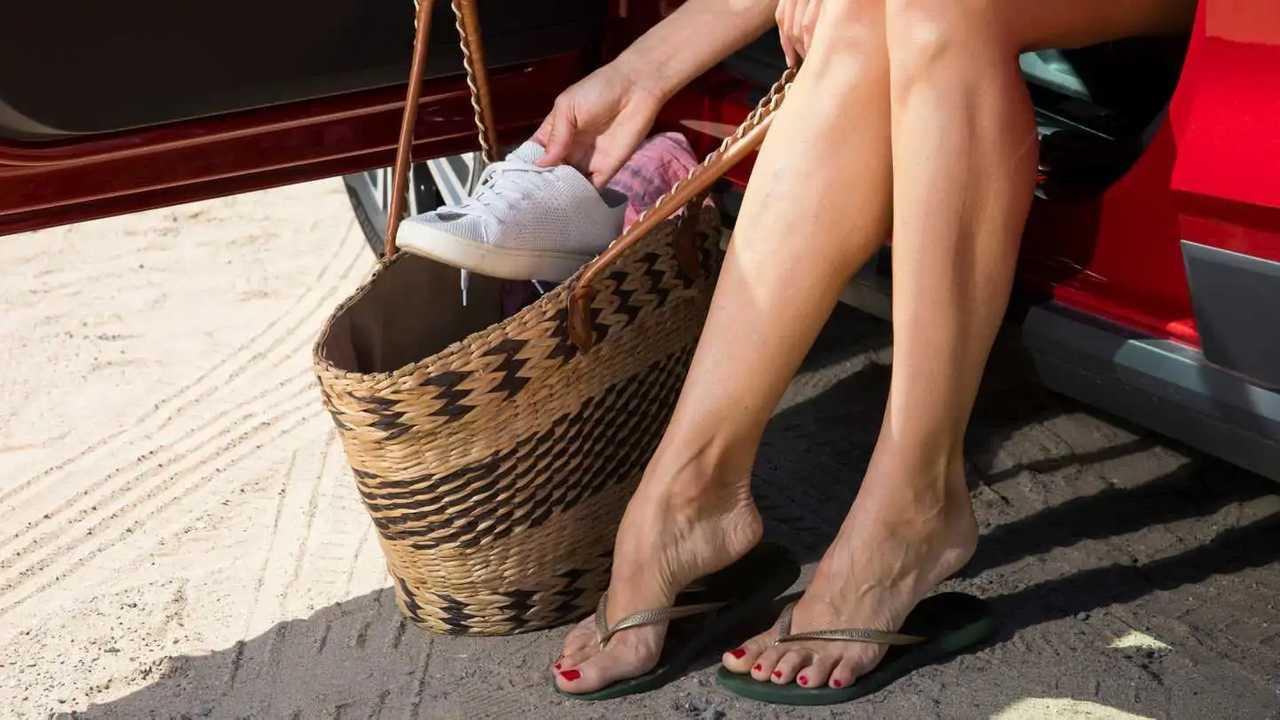 Evita las chancletas de playa