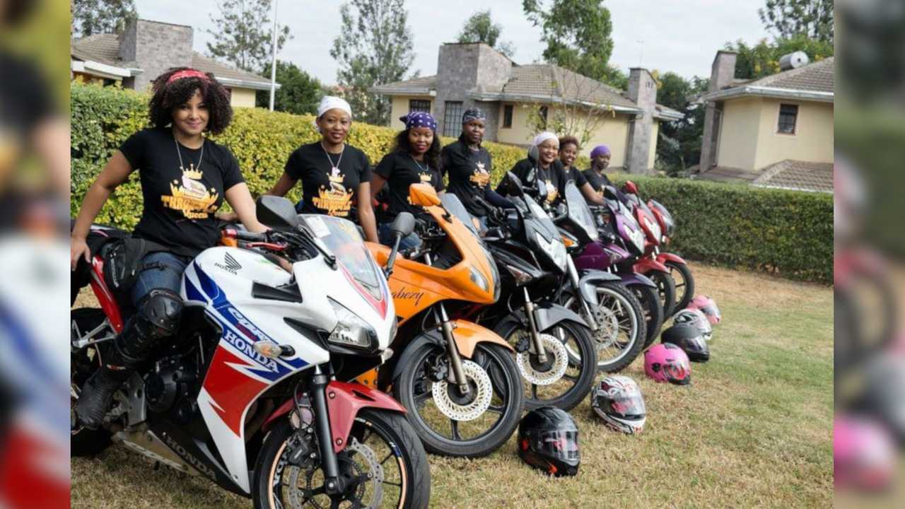 Kenya's Female Motorcycle Clubs