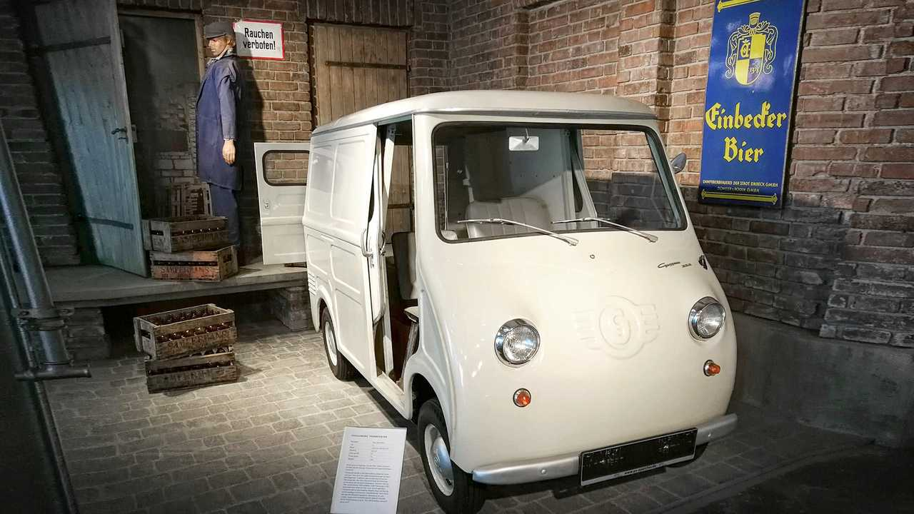 Kleinwagen-Ausstellung in Einbeck: Goggomobil TL