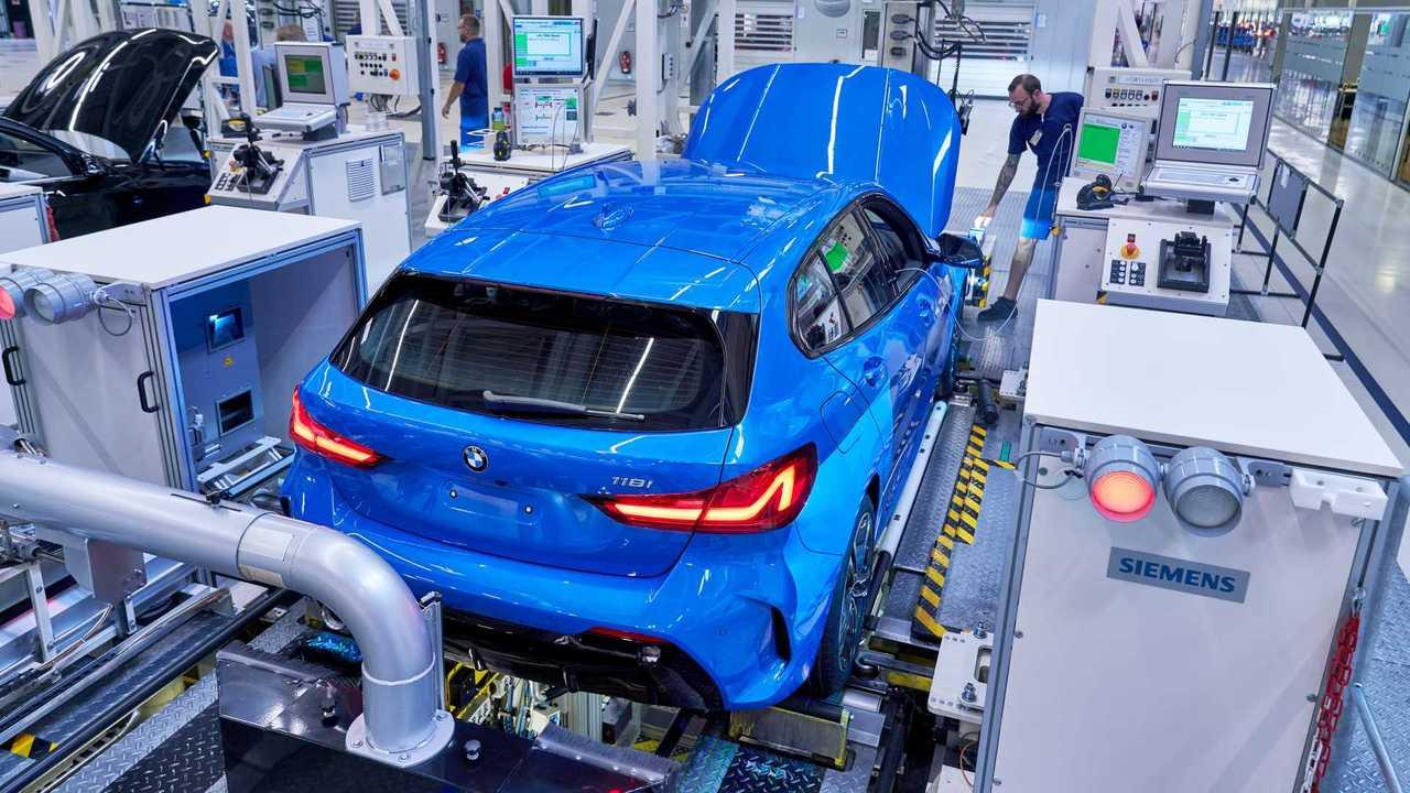 2020 BMW 1 Serisi üretim fotoğrafları