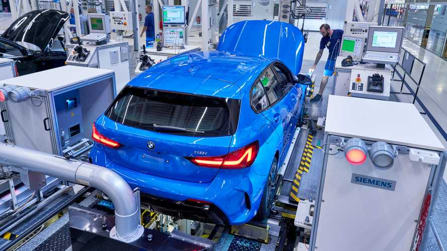 La nouvelle BMW Série 1 entre en production