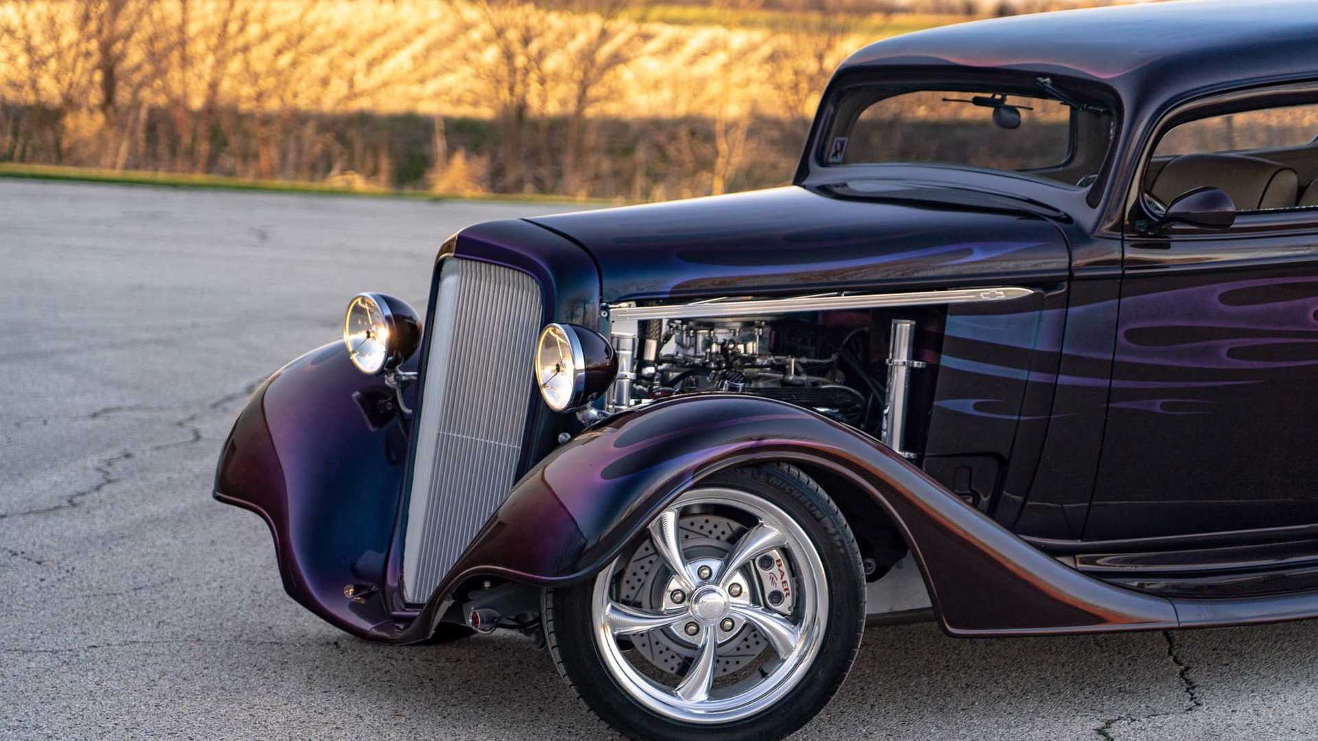 "[""The Fast Way: Show And Street Ready 1934 Outlaw Street Rod""]"