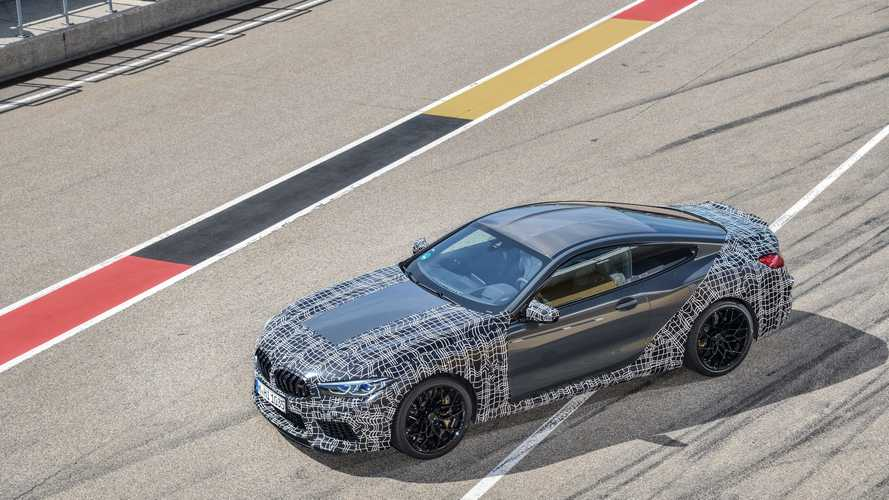 VIDÉO - BMW M montre toutes les possibilités de réglage de la M8