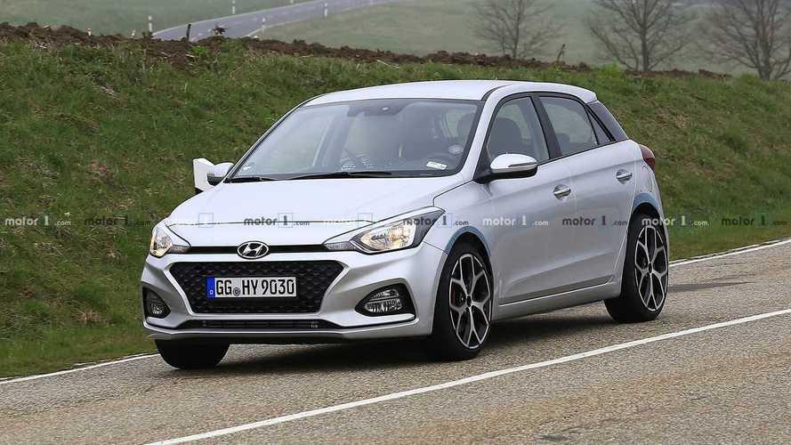 Hyundai i20 N 2020, el deportivo se prepara en Nürburgring