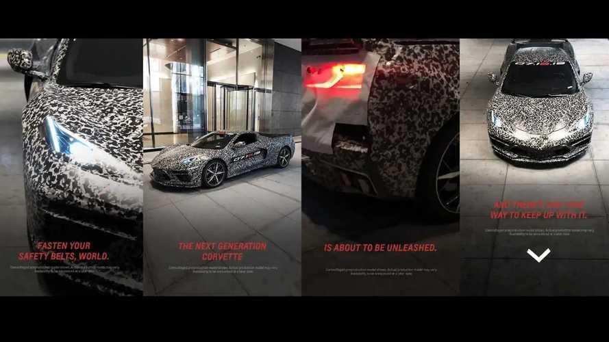 Nuova Chevrolet Corvette, le prime foto ufficiali (camuffate)