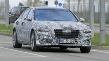 2021 Mercedes S-Class new spy images