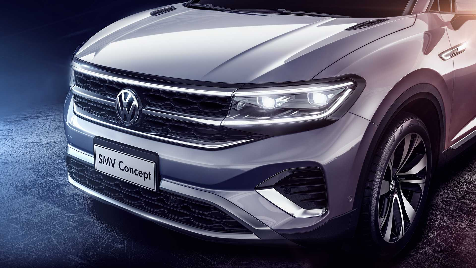 Volkswagen сделал 7-местный кроссовер больше Atlas