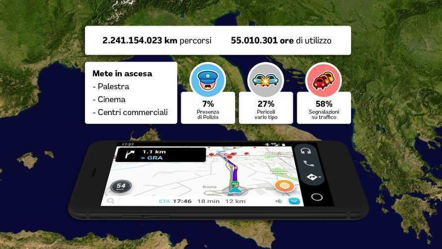 Dove e come viaggiano gli italiani? Ce lo dice Waze