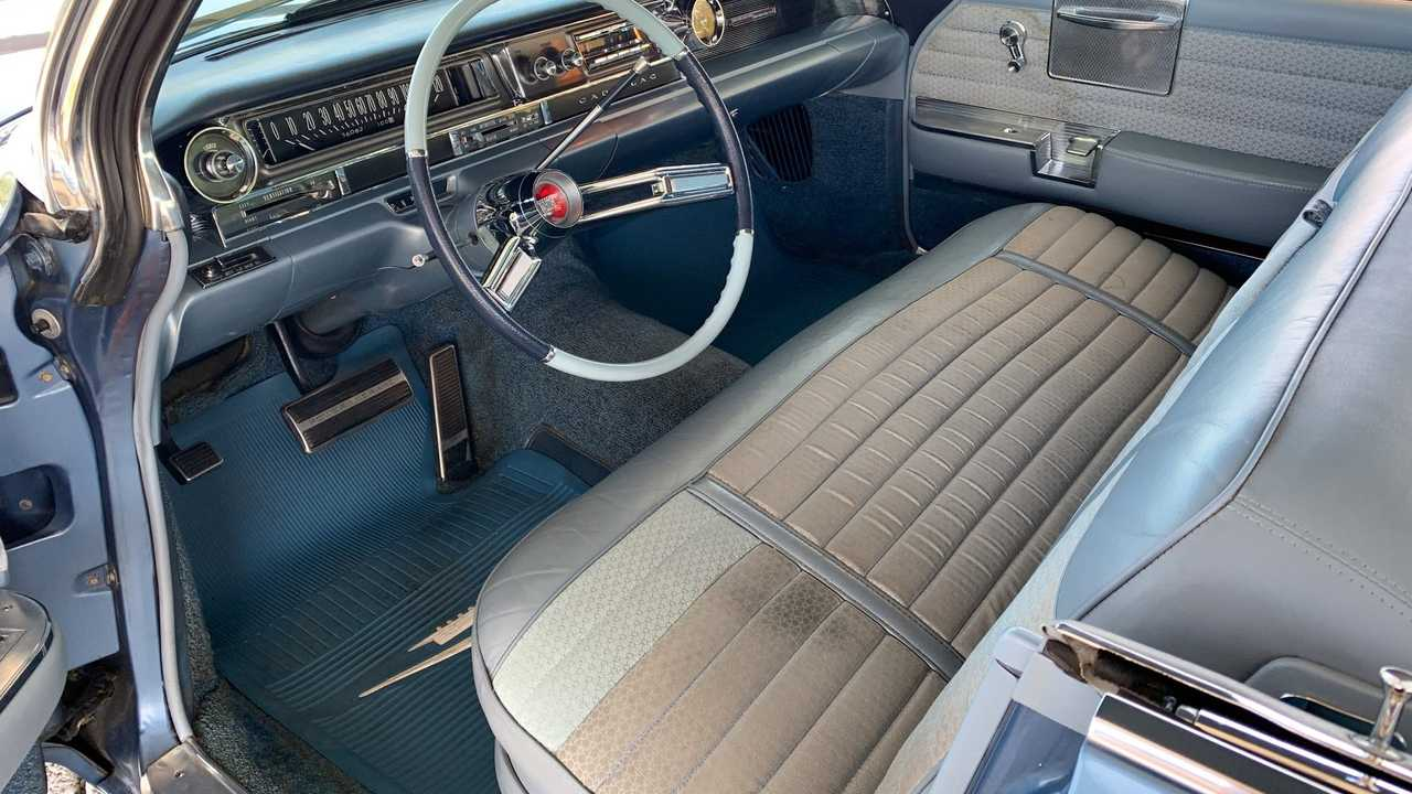 Extremely Clean 1961 Cadillac DeVille In Dresden Blue Metallic