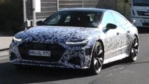 audi rs7 sportback spy video