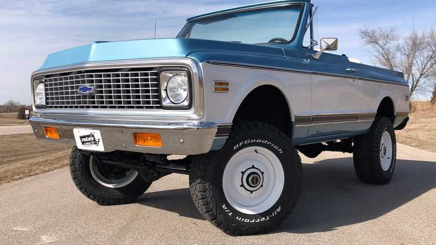Go Off-Roading In This 1972 Chevrolet K5 Blazer Vintage SUV