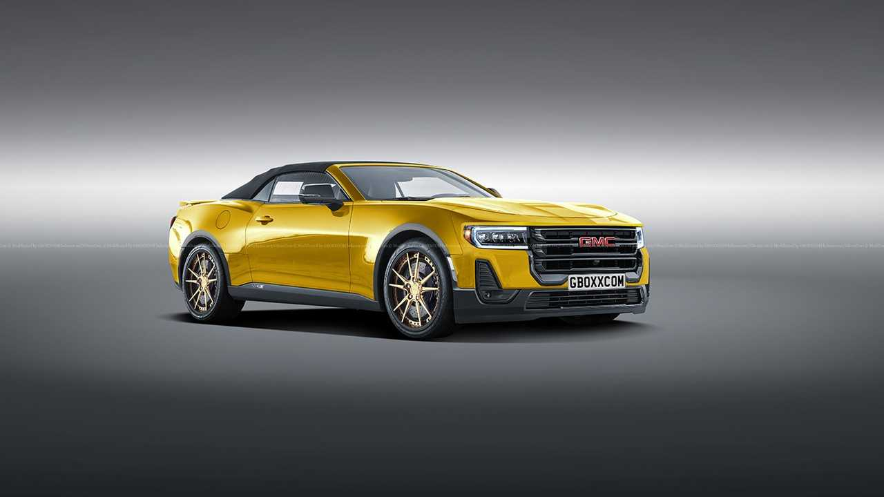 Someone Imagined What A GMC Sports Car Would Look Like